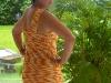 Sommerkleid hinten