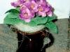 Häkelblumen Tasse
