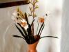 Häkelblumen Vase